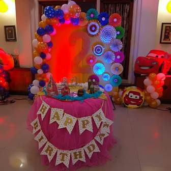 Birthday Party Decorators In Kolkata